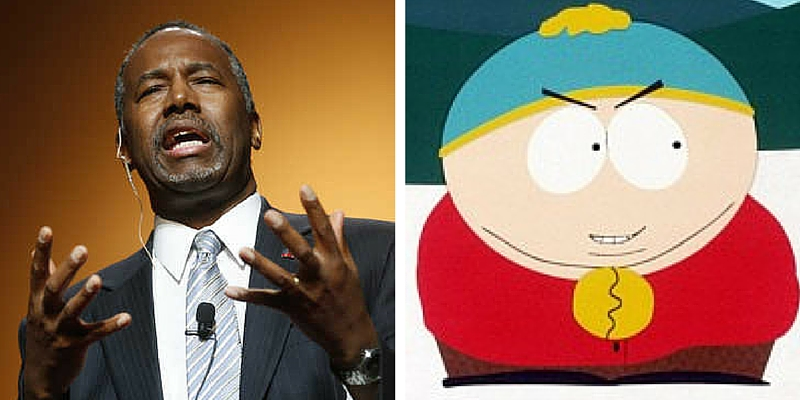 Who Said It: Ben Carson or Eric Cartman?